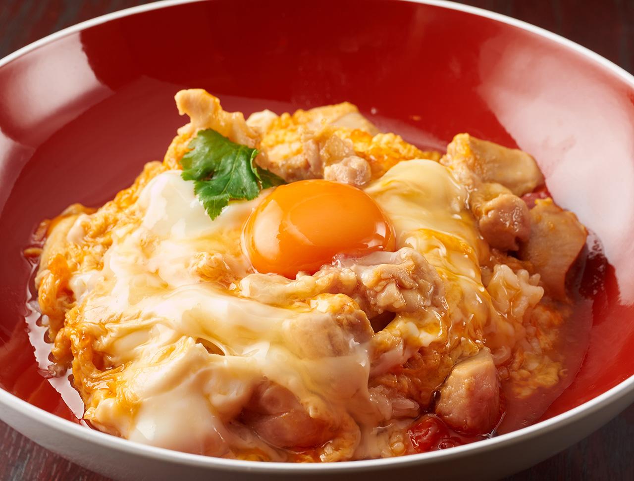 滋賀県産近江黒鶏親子丼